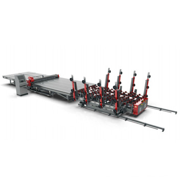 glass cutting machine line price